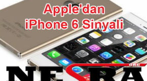 Apple'dan iPhone 6 Sinyali