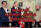 Barzani Kurmaylarıyla Ankara'da