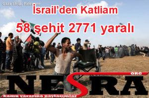58 şehit 2771 yaralı