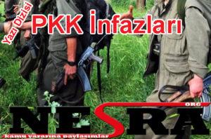 pkk infazları