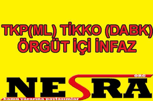 TKP(ML) Tikko (Dabk) İnfaz