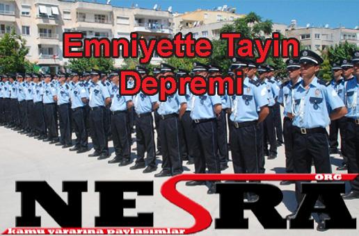 Emniyette Tayin Depremi
