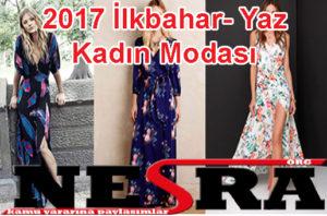 2017 İlkbahar- Yaz Kadın Modası