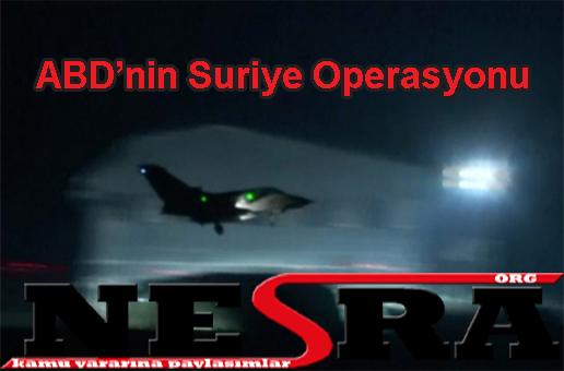 ABD'nin Suriye Operasyonu