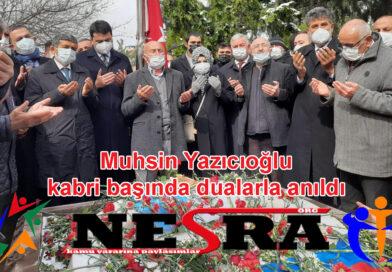 Muhsin Yazıcıoğlu Şehadetinin 12. Yılında Kabri Başında Anıldı.